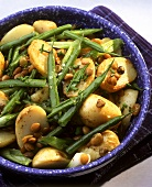 Potato Salad with Green Beans and Lentils