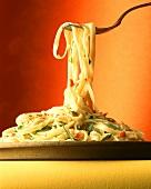 Pasta alla giardiniera (Pasta with herbs and vegetables)