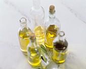 Olive Oil in Various Bottles