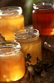 Many Assorted Jars of Honey from Provence