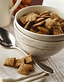 Breakfast cereals in a bowl