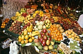 Market stall with lots of fresh fruit (Barcelona)