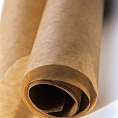 A Roll of Brown Parchment Paper