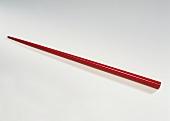 A red chopstick