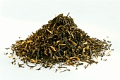 Black Assam tea (a pile of tea leaves)