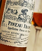 A bottle of Pineau des Charentes, France