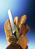 Breads with Knife