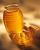 Open Jar of Honey