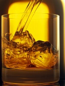 Pouring Whisky in Glass