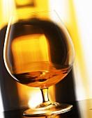 Brandy in a brandy glass