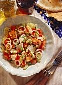 Aragosta catalana (langouste salad), Sardinia, Italy