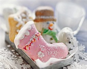 Various figurative Christmas biscuits