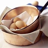 Eggs in Copper Dish
