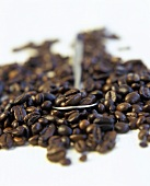 Coffee Beans with Spoon