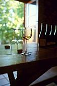 Wine tasting in Chateau Villemajou