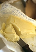 Italian butter on wrapper