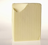 Butter with a corner cut off