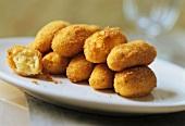 Panzarotti (deep-fried potato croquettes, Italy)