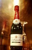 A bottle of Rotkäppchen champagne
