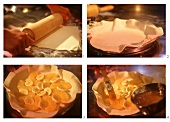 Karibische Ananastarte zubereiten