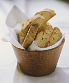 Cantucci (almond biscuits), Tuscany, Italy