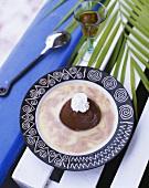Caribbean chocolate mousse (Marquise au chocolat)