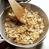 Making almond praline
