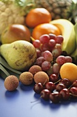 Various fruits and exotic fruits