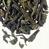 Sencha tea leaves