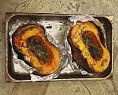 Zucca arrostita (barbecued pumpkins with herbs)