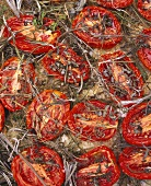 Pomodori secchi alle erbe (roasted tomatoes with herbs)