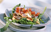 Red mullet in tomato vinaigrette with rocket
