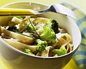 Pasta integrale ai broccoletti (Wholemeal pasta with broccoli)