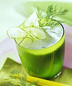 Cucumber drink with dill