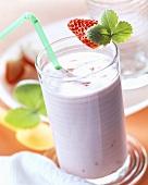 Strawberry shake with Kirsch