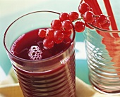 Beetroot juice with redcurrants
