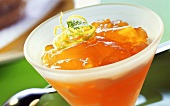 Apple and carrot jelly (with honey, for diabetics)