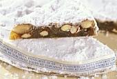 Panforte di Siena (fruit cake), Tuscany, Italy