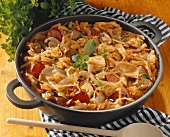 Bigos: Polish pork and cabbage stew