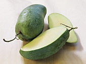 Green mango from Thailand, variety: Keosawoei