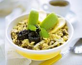 Bircher muesli with fruit