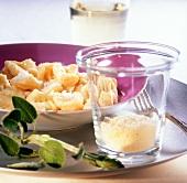 Gnocchi al parmigiano (potato gnocchi with Parmesan)