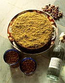 Tunisian pistachio mousse
