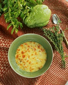 Chayote gratin from the Seychelles