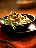 Truffle risotto with fresh chives
