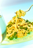 Spaghetti alla menta (Spaghetti with minted vegetable sauce)