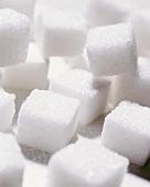 White sugar lumps