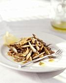 Sarde fritte (deep-fried sardines), Sicily, Italy