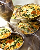 Vegetable quiches for Harry Potter party or Halloween