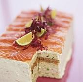 Fish terrine with smoked salmon